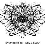 space planet illustration | Shutterstock . vector #68295100