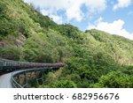 kuranda scenic railway | Shutterstock . vector #682956676