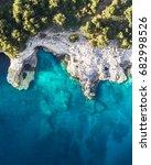 sea caves of croatia   Shutterstock . vector #682998526