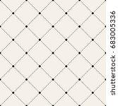 vector seamless pattern. modern ... | Shutterstock .eps vector #683005336