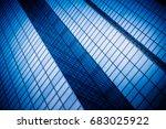 detail shot of modern... | Shutterstock . vector #683025922