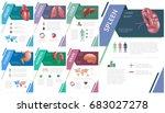 internal human organs... | Shutterstock .eps vector #683027278