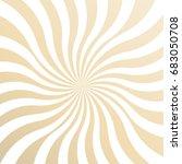cream color sun rays sunburst...   Shutterstock .eps vector #683050708