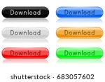 download buttons. colored... | Shutterstock . vector #683057602