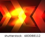 digital technology glowing... | Shutterstock . vector #683088112