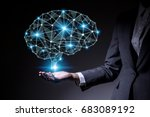 ai  artificial intelligence ... | Shutterstock . vector #683089192