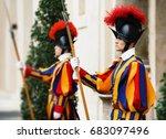 vatican city  vatican   nov 20  ...   Shutterstock . vector #683097496