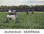 closeup view of agriculture...   Shutterstock . vector #683098666