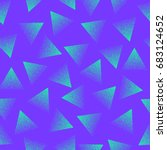 vector abstract stippled... | Shutterstock .eps vector #683124652