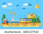 flat design  illustration of... | Shutterstock .eps vector #683127532