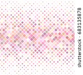 color abstract square pattern... | Shutterstock .eps vector #683135878