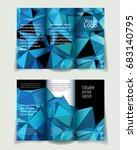 vector abstract business... | Shutterstock .eps vector #683140795