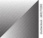abstract black diagonal striped ... | Shutterstock .eps vector #683173282