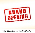 illustration of grand opening... | Shutterstock .eps vector #683185606