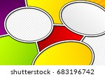 vector mock up of a typical... | Shutterstock .eps vector #683196742