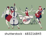Pinup Girls Band. Four...
