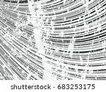 grunge white and black stripes. ... | Shutterstock .eps vector #683253175