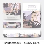 modern grunge brush design... | Shutterstock .eps vector #683271376