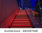dallas arts district july 14 ... | Shutterstock . vector #683287468