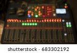 sound mixer blur background | Shutterstock . vector #683302192