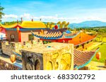 chinese style building at