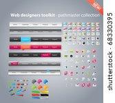 web designers toolkit  ... | Shutterstock .eps vector #68330395