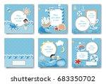 boy album set. | Shutterstock .eps vector #683350702