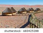 sesriem  namibia   september 05 ...   Shutterstock . vector #683425288