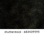glitter vintage lights frame... | Shutterstock . vector #683439595