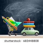 Back To School Sale Background. ...