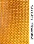 natural honeycomb texture | Shutterstock . vector #683465542