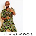 portrait of young handsome...   Shutterstock . vector #683540512