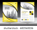 annual report brochure flyer... | Shutterstock .eps vector #683560036