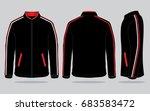 jacket design vector | Shutterstock .eps vector #683583472