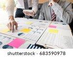 administrator business man... | Shutterstock . vector #683590978