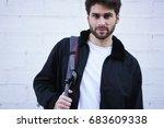 half length portrait of good... | Shutterstock . vector #683609338