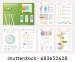 infographic set. big set of... | Shutterstock .eps vector #683652628