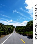 the highway in coontryside | Shutterstock . vector #683715316