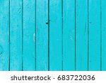 the old blue wood texture with... | Shutterstock . vector #683722036