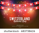 illustration of switzerland... | Shutterstock .eps vector #683738626