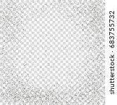 distressed overlay texture... | Shutterstock .eps vector #683755732