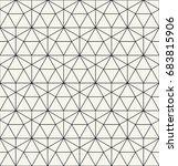 geometric pattern | Shutterstock .eps vector #683815906