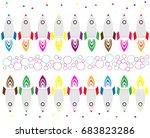 colorful rocket ships pattern   ...   Shutterstock .eps vector #683823286