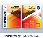 multipurpose modern corporate... | Shutterstock .eps vector #683842366