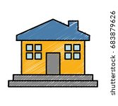 house icon image | Shutterstock .eps vector #683879626