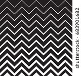 geometric black and white... | Shutterstock .eps vector #683901682