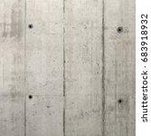 grey concrete wall.   Shutterstock . vector #683918932