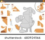 cartoon vector illustration of... | Shutterstock .eps vector #683924566