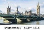 london  england   28 march 2017 ... | Shutterstock . vector #683947216