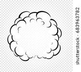 Isolated Cartoon Speech Bubble...